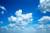 "Постер, картина, фотообои ""blue sky background """