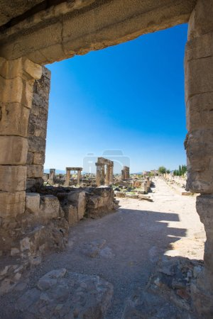 Ancient ruins in Hierapolis