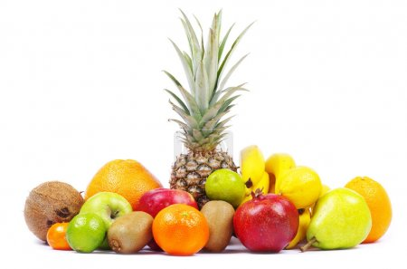 Composition with tropical fruits