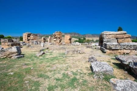 Ancient ruins in Hierapolis
