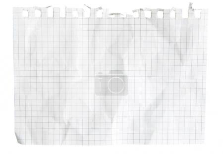 piece of notepad paper