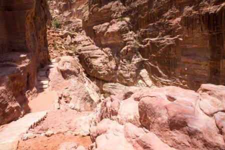 Ancient City of Petra ruins in Jordan