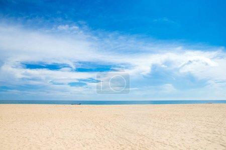 beautiful beach and calm tropical sea