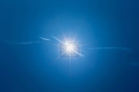 beautiful Blue sky with white clouds for background