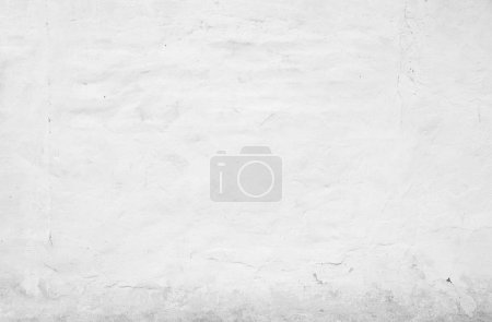 Photo for White wall for background or texture - Royalty Free Image