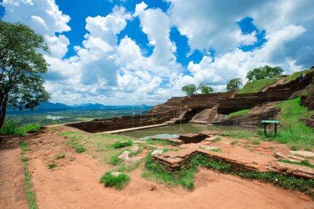 Sigiriya Lion Rock Fortress in
