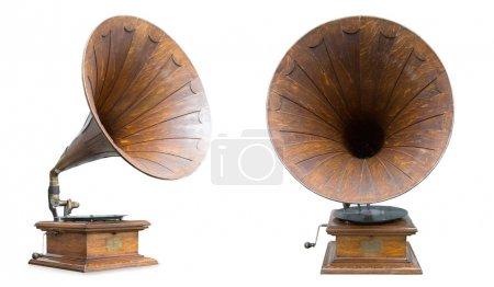 retro old gramophones