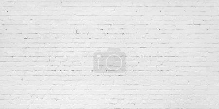 Foto de Pared de ladrillo blanco para el fondo o textura - Imagen libre de derechos