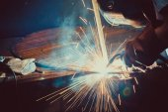 Steel rrection welder