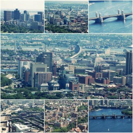 Аэрофотоснимок изображение Бостон