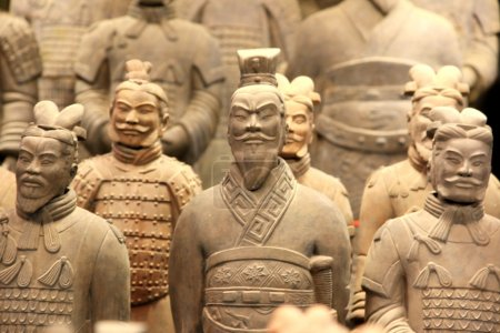 The Terracotta Army or the Terra Cotta Warrior