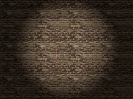 Photo for Brick wall texture background. 3d  illustration. - Royalty Free Image