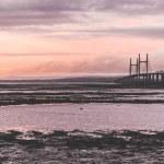 Second Severn crossing, a bridge linking Bristol t...