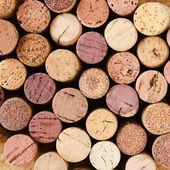 Used wine corks