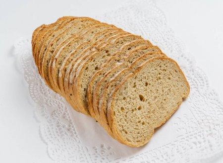 loaf of wholegrain bread