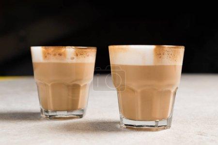 Tasty cappuccino coffee