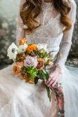 "Постер, картина, фотообои ""Nice невеста с цветами"""