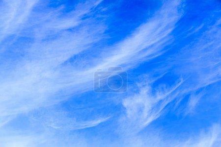 blue bright  sky background