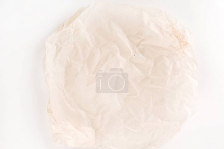 Parchment for baking culinary, close up