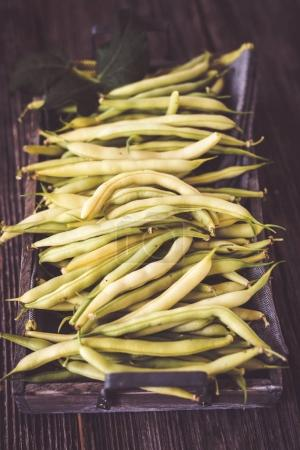 Fresh ripe beans