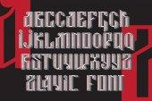 Slavic font set