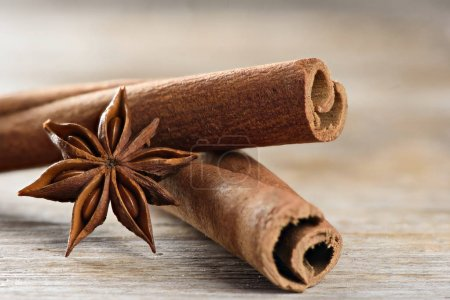 cassia also known as Cinnamomum Chinese and Star Anise