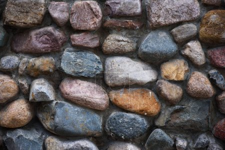 Photo for Stone wall background and texture close up - Royalty Free Image