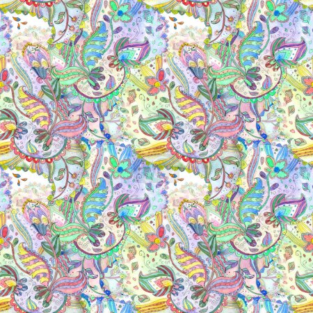 texture with fantasy pattern.