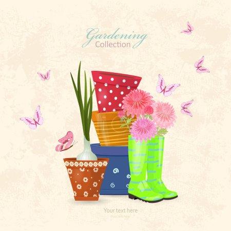 colorful gardening lifestyle