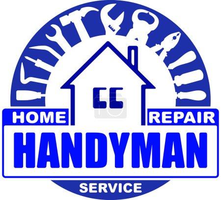 Handyman home repair services.