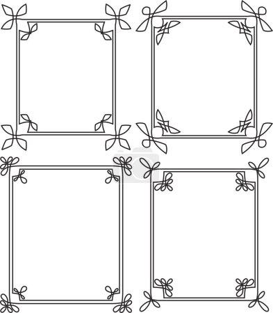 thin decorative frames