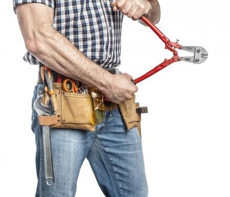 handyman and tools
