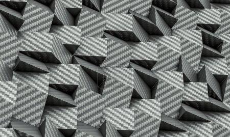 3D geometrischer Hintergrund