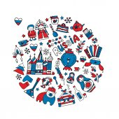 Russia icons collection Sketch for your design