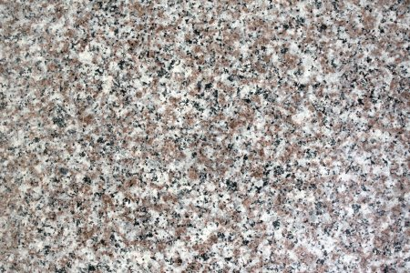 Texture of granite of gray color