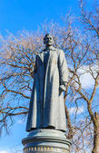 Monument to Felix Dzerzhinsky in the Museon Art Park in Moscow,