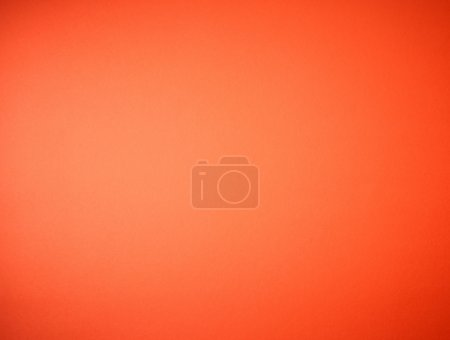 Photo for Textured orange color paper background - Royalty Free Image