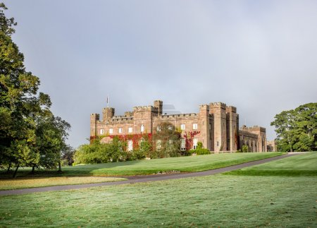 Historical Scone Palace in Scotland...