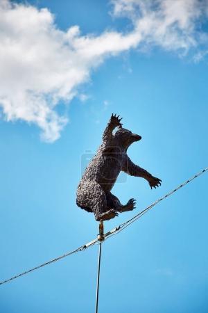 bear statuette, symbol of Berne city