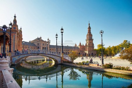 Spain Square, Sevilla, Spain