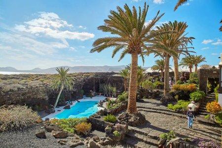 Jameos del Agua pool in Lanzarote