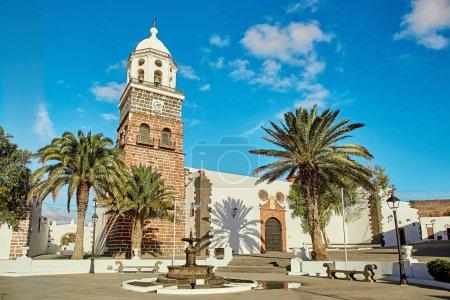 Teguise village, Lanzarote Island, Spain