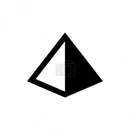 pyramid desing icon