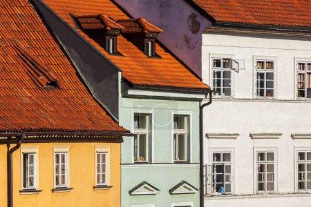 Prague Mala Strana houses