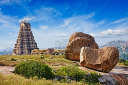 Temple de Virupaksha. Hampi, Karnataka, Inde