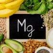 Products containing magnesium. Healthy eating. Fla...