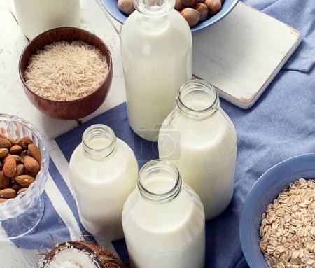Alternative types of milk