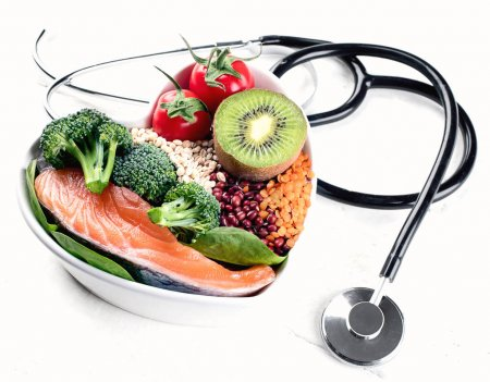 Photo for Cholesterol diet. Healthy food concept. - Royalty Free Image