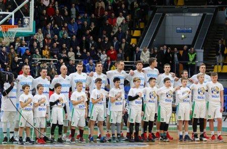 FIBA World Cup 2019 Qualifiers: Ukraine v Sweden in Kiev