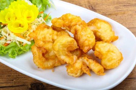 Asian style Squid tempura